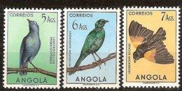 Angola 1951 Yvertn° 341-343 ***  MNH Cote 22,75 € Faune Oiseaux Vogels Birds  Part D' Une Série Courante - Autres