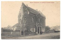 SINT ULRIKS KAPELLE Dilbeek 1924 Gemeentehuis Uit. Schaillée + Lettre Brief 1922 Château De La Motte Sceau Cachet Cire - Dilbeek