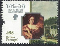 Portugal 2019 Neuf Avec Gomme 200 Ans Naissance De La Reine D. Maria II - 1910-... République