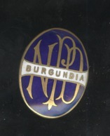 Badge De Pélerinnage émailé - Burgundia Sur Mongramme NDP - Très Bon état - Religion &  Esoterik