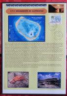 FRANCE - NOTICES PERSO - NOT 060 - 2011 - PJ YT 4611 - DECOUVERTE DE CLIPPERTON - Other