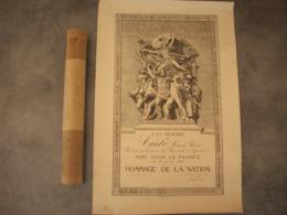 Diplôme Mort Pour La France ( Hommage De La Nation 1916 ) à La Mémoire De Cado Henri - Diplômes & Bulletins Scolaires