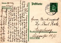 Vordruck -PK 8 Pf Von Beilngries 1928 - Deutschland