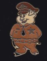60062- Pin's .policier Cochon... - Police