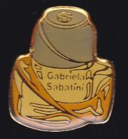 60069- Pin's .parfum.gabriela Sabatini.tennis.... - Parfums