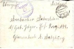 Feldpost - Brief Von Friedrichshafen 1941 - Briefe U. Dokumente