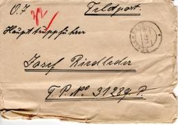 Feldpost - Brief Von Schlehdorf 1944 - Briefe U. Dokumente