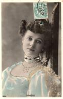 Artiste Femme 1900 - Denège (reutlinger 1355) Strass Paillettes - Artisti