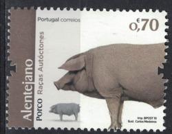 Portugal 2019 Neuf Avec Gomme Animaux Races Autochtones Porco Alentejano Cochon - 1910-... République