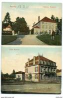 Frankreich - Remilly Chateau Peupion -Villa Masson Bahnpost -gel.1911 - France
