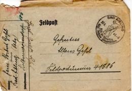 Feldpost - Brief Von Bad Aibling 1941 - Briefe U. Dokumente