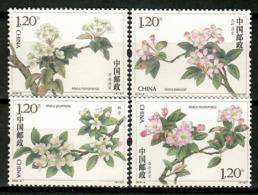 China 2018 / Flowers MNH Blumen Flores Fleurs / Cu13120  36-50 - Vegetales