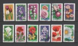 """FRANCE / 2012 / Y&T N° AA 662/673 : """"Fleurs"""" (série Complète 12 TP) - Choisis - Tous Cachet Rond - KlebeBriefmarken"""