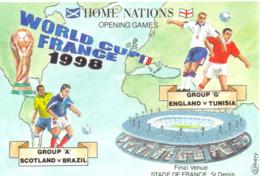 Postcard Stadium World Cup France 1998 Stadion Stadio Estadio Stade Sports Football Soccer - Fútbol