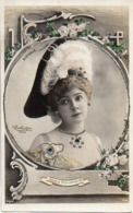 Artiste Femme 1900 - Dieterle (reutlinger) Strass Paillettes - Künstler