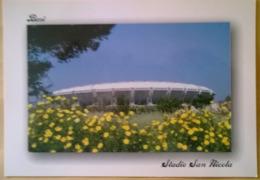 Postcard Stadium Bari Italy San Nicola Stadion Stadio - Estadio - Stade - Sports - Football - Soccer - Fútbol