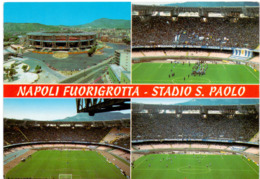 Postcard Stadium Napoli San Paolo Italy Stadion Stadio - Estadio - Stade - Sports - Football - Soccer - Fussball