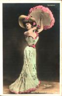 Artiste Femme 1900 - Arlette Dorgère, Variétés Reutlinger Robe Longue Ombrelle - Artisti