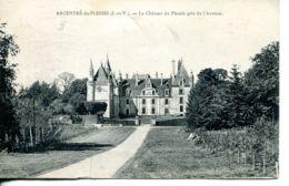 N°75750 -cpa Argentré Deu Plessis -le Château Du Plessis- - Kastelen
