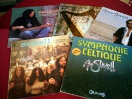 ALAN STIVELL   °  COLLECTION DE 13 VINYLES  33 TOURS DIFFERENTS - Vollständige Sammlungen