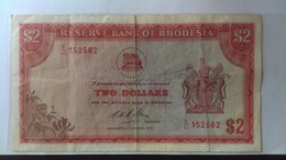 Rhodesia 1972: 2 Dollars - Rhodesia