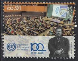 Portugal 2019 Neuf Avec Gomme Centenaire OIT Organisation Internationale Du Travail - 1910-... République