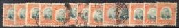 APR1937 - BRASILE 1906 , Servizio Yvert N. 1/13 Usato  (2380A) Penna - Dienstzegels