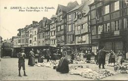 14 LISIEUX - LE MARCHE A LA VAISEILLE - Lisieux