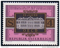 154 Austria 1985 Chateau De La Muette Paris MNH ** Neuf SC (AUT-205) - 1945-.... 2ème République
