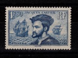 YV 297 N** Signé Calvès Luxe, Jacques Cartier Cote 190 Euros - France