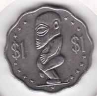 Cook Islands 1 Dollar1992 Elizabeth II Copper-Nickel KM# 37 - Cook