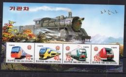 Modern Locomotives Trains  On Postage  Stamps - MNH**AF2 - Trains