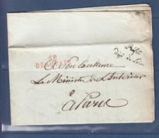 58 BEAUVAIS PREFET DEPT DE L'OISE - Postmark Collection (Covers)