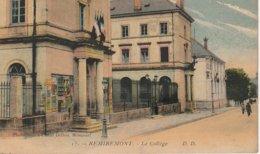 CPA 88 (Vosges) REMIREMONT / LE  COLLEGE / ANIMATION - Remiremont