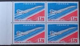 R1615/997 - 1976 - POSTE AERIENNE - CONCORDE - BLOC N°49 TIMBRES NEUFS** BdF - Poste Aérienne