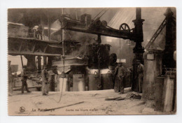 - CPA BELGIQUE - La Métallurgie - Coulée Des Lingots D'acier - Edition Nels - - Belgique
