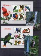 Central Africa -  Birds Fauna  On Postage Stamps- MNH**AF2 - Birds