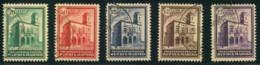 1932, Post Office Building Complete Set 20 Cent. Up To 2,75 Lire. - Michel Nr. 175/179 - 220,- - Oblitérés