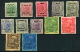 POST AUF KRETA: 1903/1906, Kleines Lot Von 12 Ungebrauchten Bzw. Gestempelten Marken. Hoher Katalogwert. - Oostenrijk