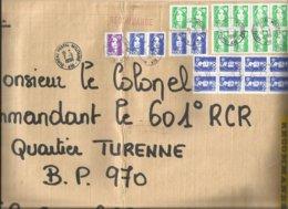 Germany 1996 BPM 416 Tübingen Military Official Registered Cover - Militaire Stempels Vanaf 1900 (buiten De Oorlog)