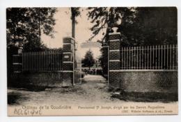 - CPA BELGIQUE - Château De La Goudinière - Pensionnat St-Joseph - Uitg. Wilhelm Hoffmann 12237 - - Belgique