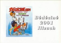 CPM Lot De 9 Cartes BEDECINE De 2001 à 2008 Walthéry Griffo Janjetov Bajram Weinberg Achdé Cauvin Rodrigue Tibet BD [GR] - Comics