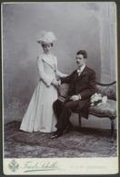 Foto  Auf  Karton Friedrich Schiller  Gebrauchsspuren - Ohne Zuordnung