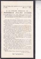 HAVERSIN ACHENE Jules SOREE 1898-1925 Souvenir Mortuaire - Obituary Notices