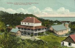 British North Borneo, SABAH SANDAKAN, St. Mary's Convent (1917) Postcard - Malaysia