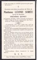 HAID HAVERSIN Léonie SOREE 40 Ans 1925 épouse Frédéric QUINET Souvenir Mortuaire - Obituary Notices