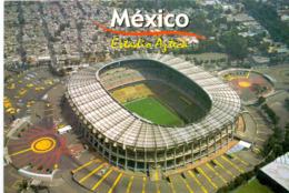 Postcard Stadium Mexico City Azteca Stadion Stadio - Estadio - Stade - Sports - Football - Soccer - Fussball
