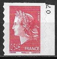 France 2007 Timbre Adhésif Neuf N°139 Cote 3,50 Euros - France