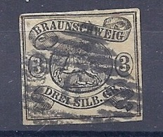 190032059  ALEMANIA  BRUNSWICK  YVERT   Nº   9 - Brunswick