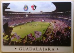 Postcard Stadium Guadalajara Mexico Jalisco Stadion Stadio - Estadio - Stade - Sports - Football - Soccer - Fútbol
